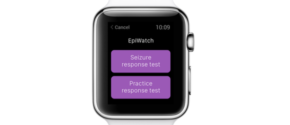 Epiwatch Apple watch app for Epilpesy